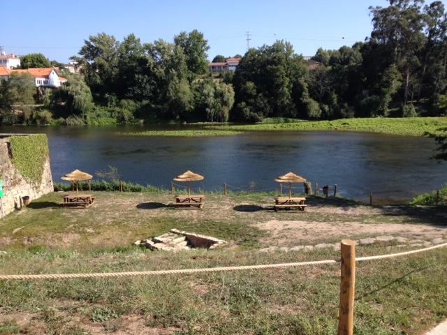 Intervenção feita na zona ribeirinha (Fonte de Baixo)