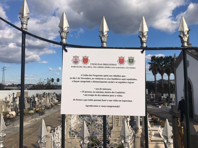 Cemitérios – 1 de Novembro