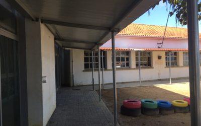 Obras na Escola Básica de São Pedro
